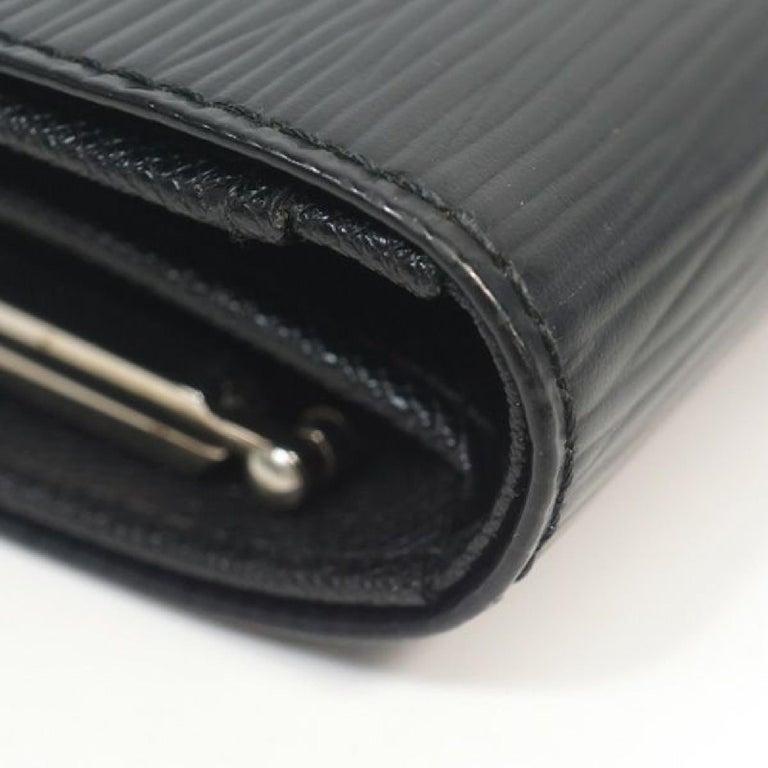 LOUIS VUITTON Portumone billets viennois Womens Folded wallet M63242 noir In Excellent Condition For Sale In Takamatsu-shi, JP