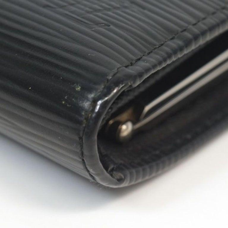 Women's LOUIS VUITTON Portumone billets viennois Womens Folded wallet M63242 noir For Sale