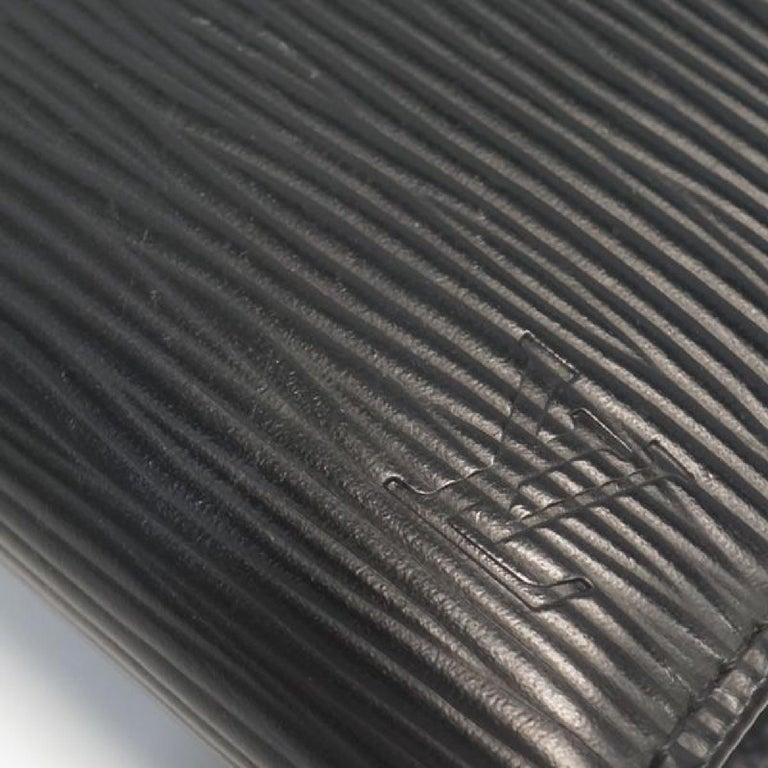 LOUIS VUITTON Portumone billets viennois Womens Folded wallet M63242 noir For Sale 1