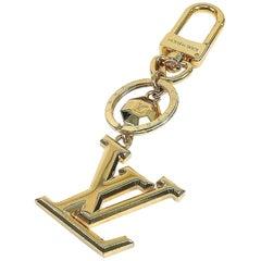 LOUIS VUITTON poruto Cle LV facet charm unisex key holder M65216 gold