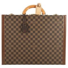 Louis Vuitton President Classeur Briefcase Damier