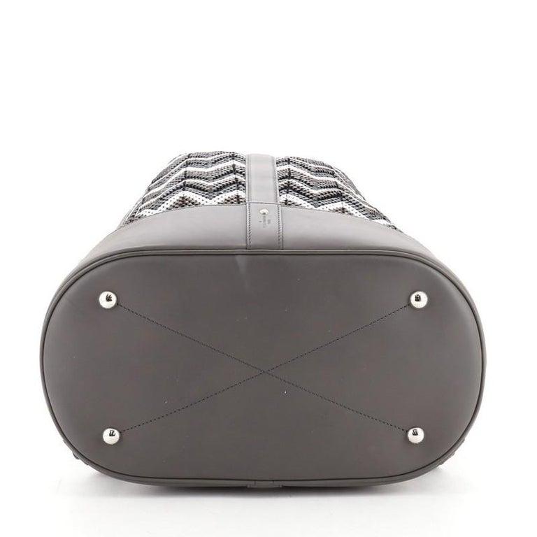 Women's Louis Vuitton Randonnee Backpack Chevron Canvas GM For Sale