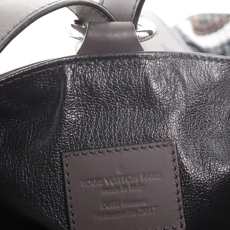 Louis Vuitton Randonnee Backpack Chevron Canvas GM For Sale 2