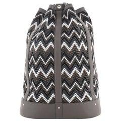 Louis Vuitton Randonnee Backpack Chevron Canvas GM