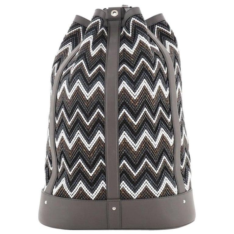 Louis Vuitton Randonnee Backpack Chevron Canvas GM For Sale