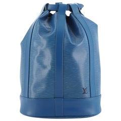 Louis Vuitton Randonnee Backpack Epi Leather PM