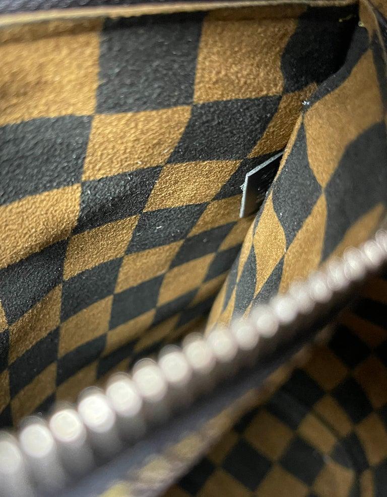 Louis Vuitton RARE Limited Edition Black & White Damier Canvas NeoNoe Bag For Sale 7
