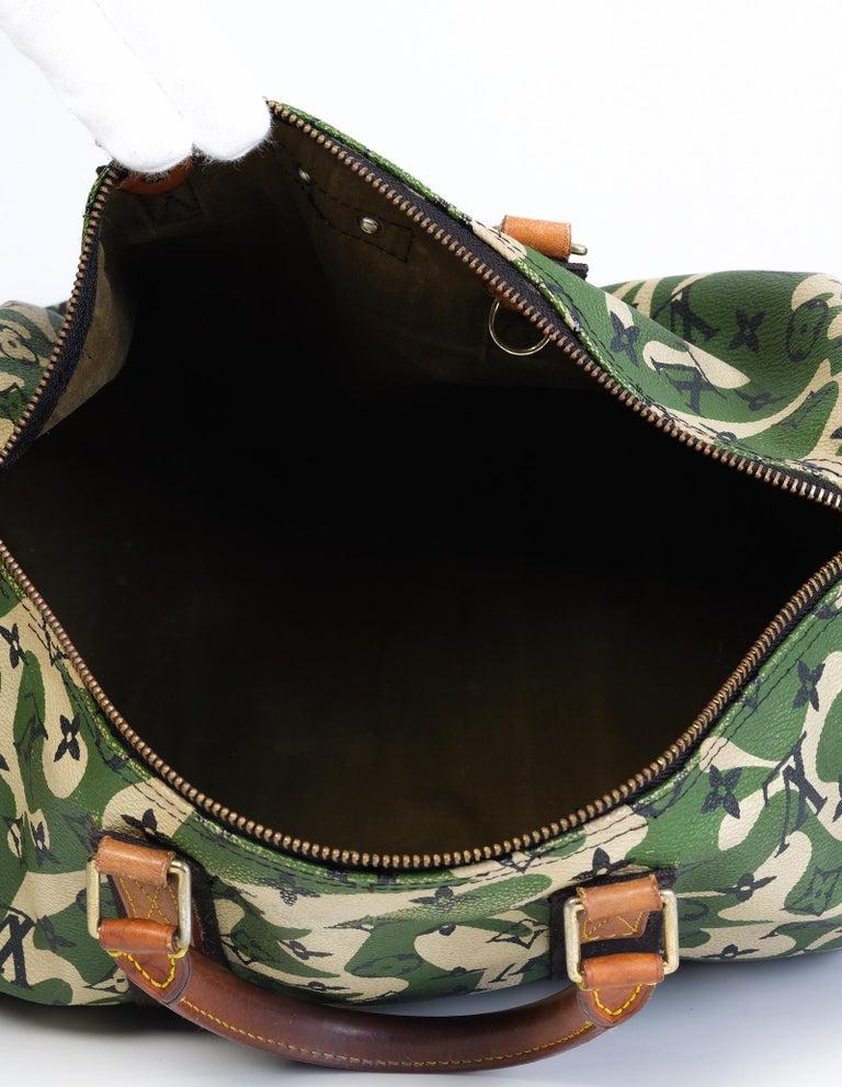 Louis Vuitton Rare Limited Edition Murakmi Monogramouflage Speedy 35 For Sale 1