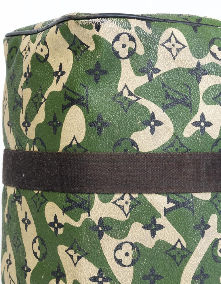 Louis Vuitton Rare Limited Edition Murakmi Monogramouflage Speedy 35 For Sale 3