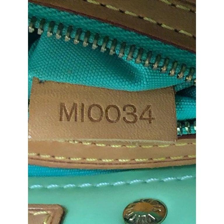 Louis Vuitton Reade Handbag Monogram Vernis PM For Sale 7