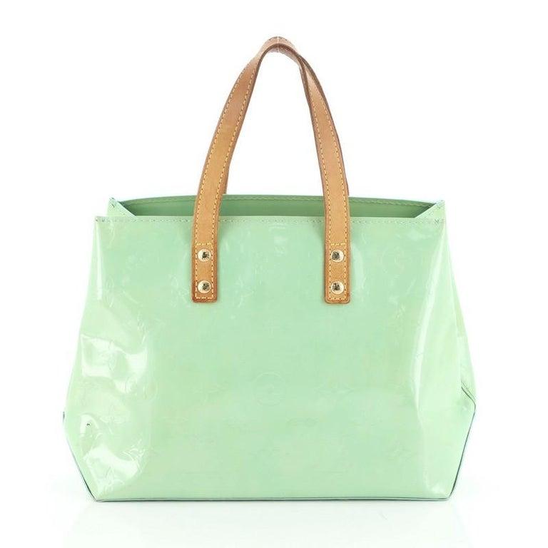Women's or Men's  Louis Vuitton Reade Handbag Monogram Vernis PM For Sale