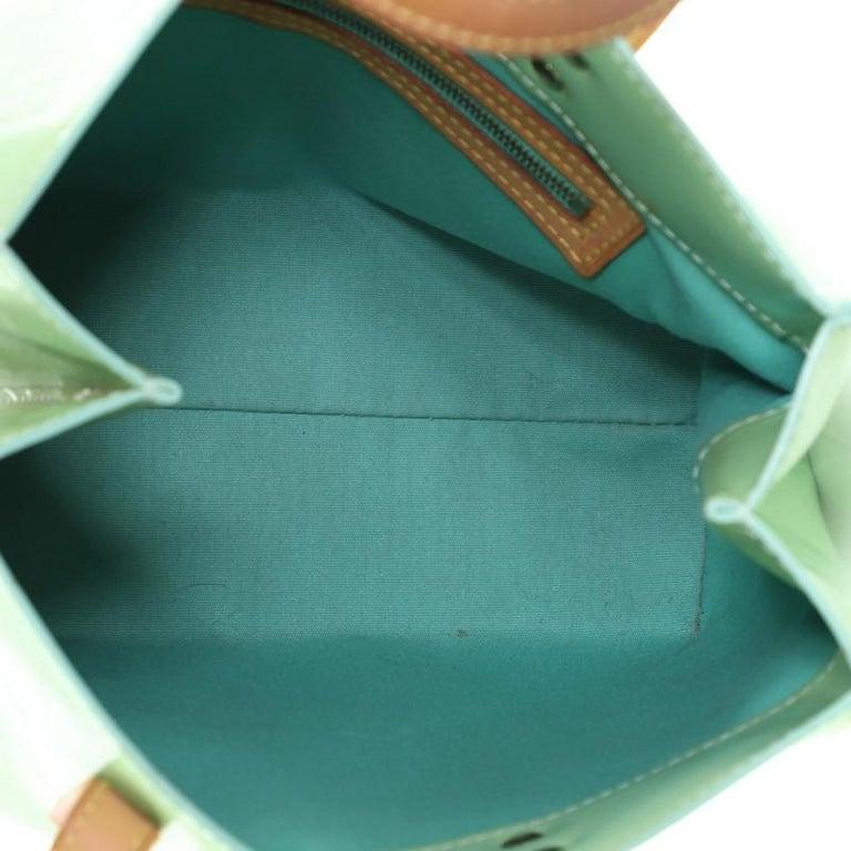 Louis Vuitton Reade Handbag Monogram Vernis PM For Sale 2