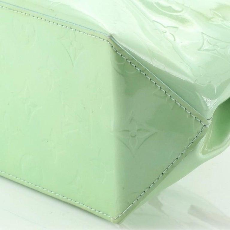 Louis Vuitton Reade Handbag Monogram Vernis PM For Sale 3