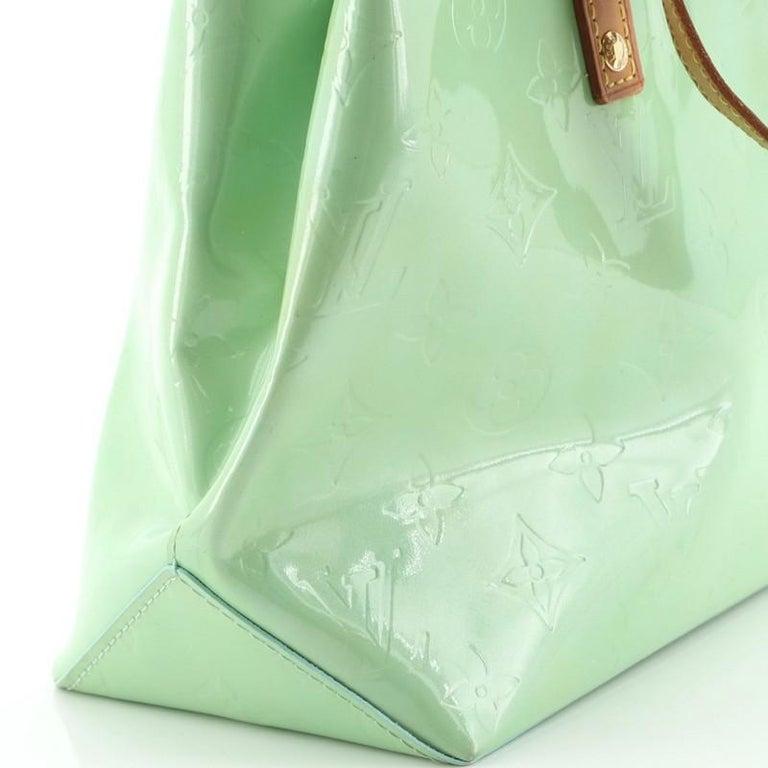 Louis Vuitton Reade Handbag Monogram Vernis PM For Sale 4