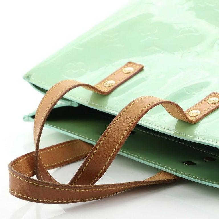 Louis Vuitton Reade Handbag Monogram Vernis PM For Sale 5