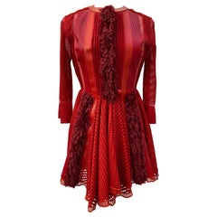Louis Vuitton Red Dress