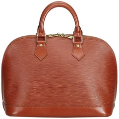 Louis Vuitton Red Epi Alma PM