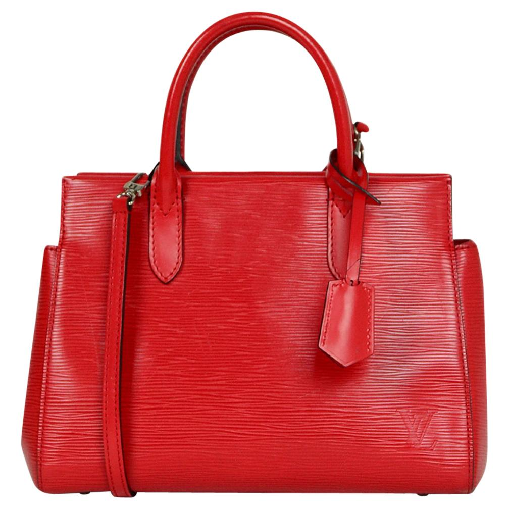 Louis Vuitton Red Epi Leather Marly BB Crossbody Bag
