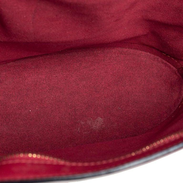 Louis Vuitton Red Epi Leather Saint Jacques PM Bag For Sale 11