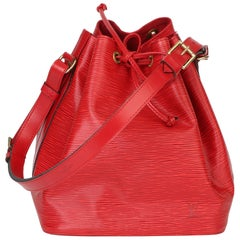 Louis Vuitton Red Epi Leather Vintage Petit Noé