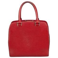 Louis Vuitton Red Epi Pont Neuf