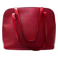 Louis Vuitton Red Epi Shoulder Bag