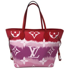Louis Vuitton Red Escale Neverfull