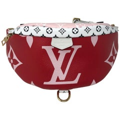 Louis Vuitton Red Giant Bum Bag