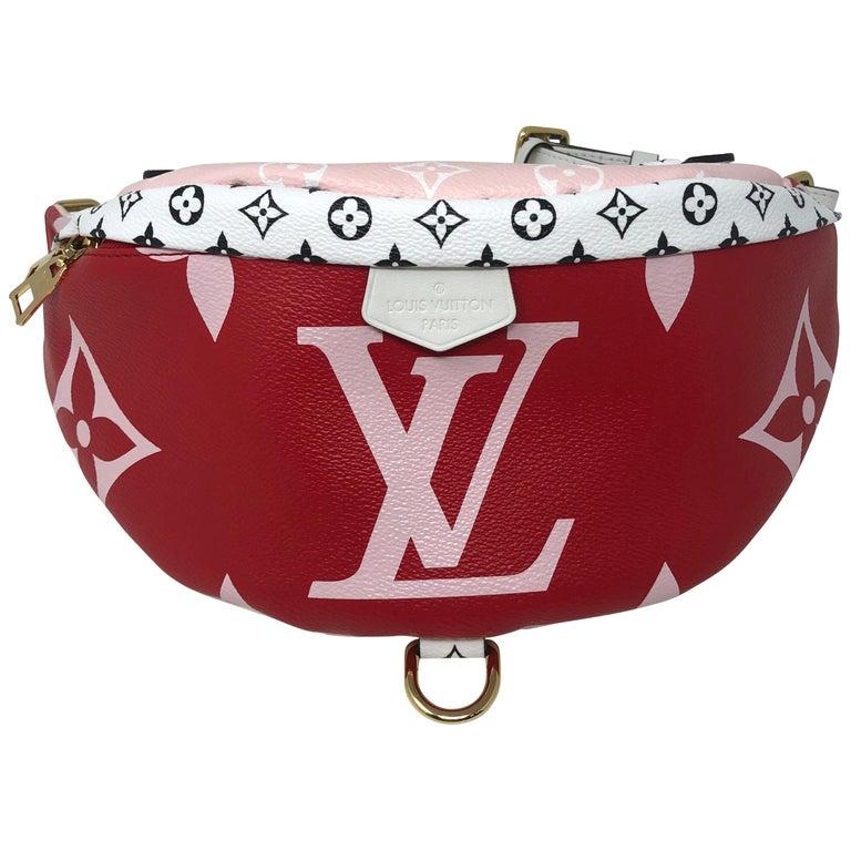 684990ca Louis Vuitton Red Giant Bum Bag