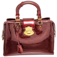 Louis Vuitton Red Vernis Leather Melrose Avenue