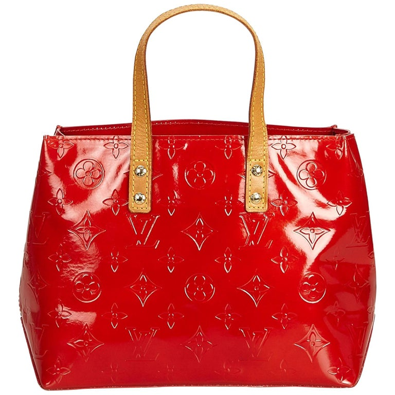 6bd0c92bf Louis Vuitton Red Vernis Reade PM at 1stdibs