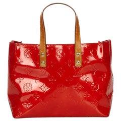 Louis Vuitton Red Vernis Reade PM