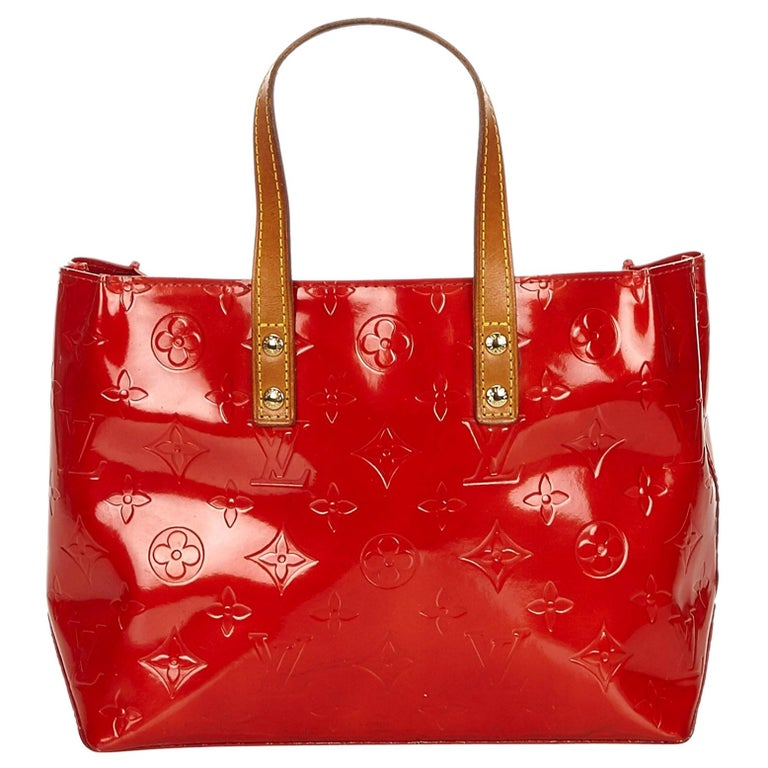 c4bdb132683a Louis Vuitton Red Vernis Reade PM at 1stdibs