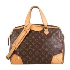Louis Vuitton Retiro Handbag Monogram Canvas PM