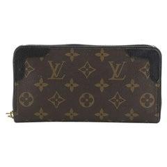 Louis Vuitton Retiro Zippy Wallet Monogram Canvas