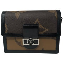 Louis Vuitton Reverse Mono Giant Dauphine MM Bag