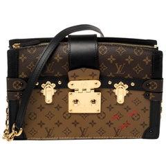 Louis Vuitton Reverse Monogram Canvas Trunk Clutch Bag