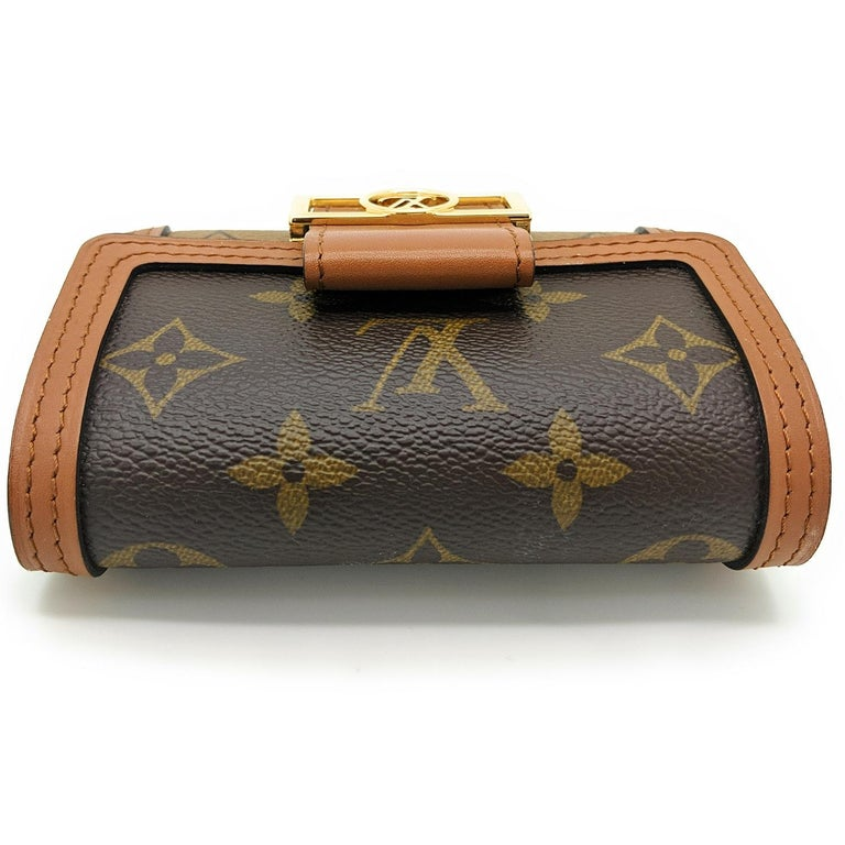 Louis Vuitton Reverse Monogram Dauphine Compact Wallet For Sale 1
