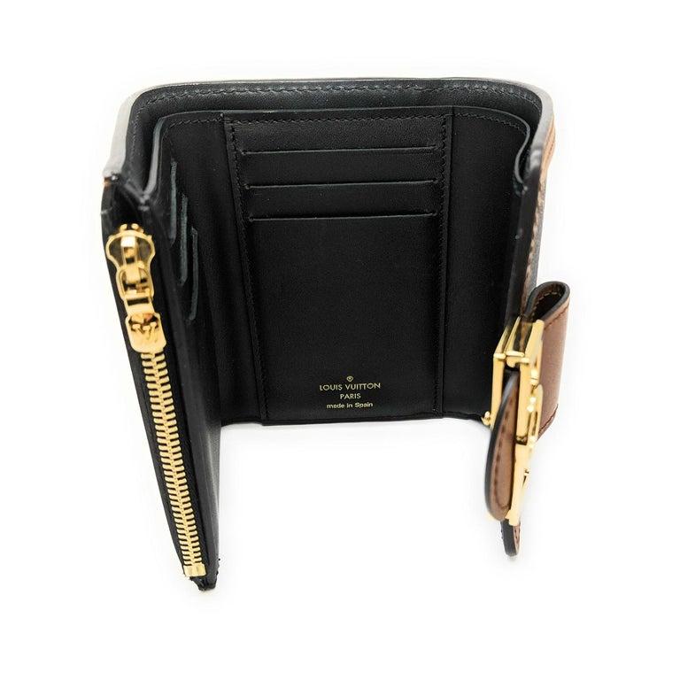 Louis Vuitton Reverse Monogram Dauphine Compact Wallet For Sale 2