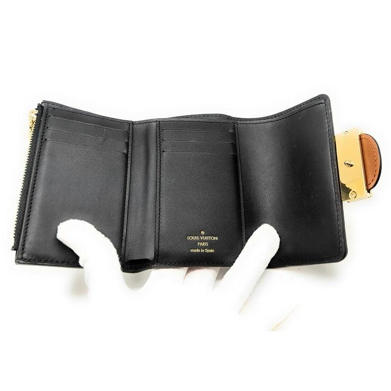 Louis Vuitton Reverse Monogram Dauphine Compact Wallet For Sale 3