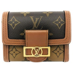Louis Vuitton Reverse Monogram Dauphine Compact Wallet