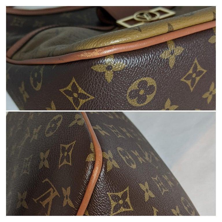 Louis Vuitton Reverse Monogram Dauphine Hobo For Sale 3