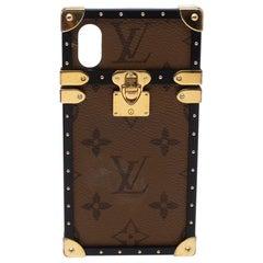 Louis Vuitton Reverse Monogram Eye-Trunk iPhone X Case