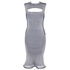 Louis Vuitton Rib Knit Stretch Dress
