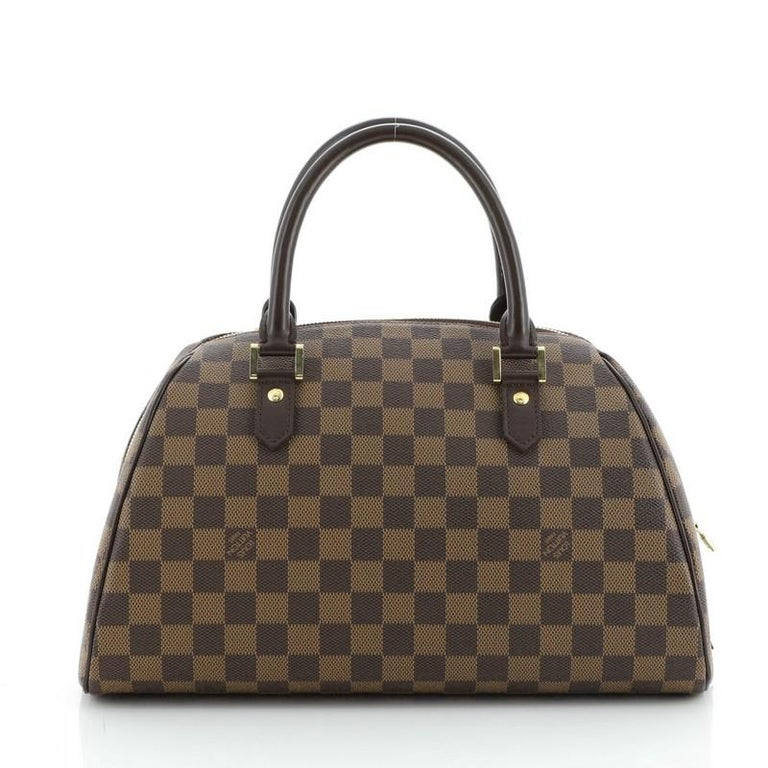 Louis Vuitton Ribera Handbag Damier MM In Good Condition For Sale In New York, NY