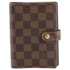 Louis Vuitton Ring Agenda Cover Damier PM