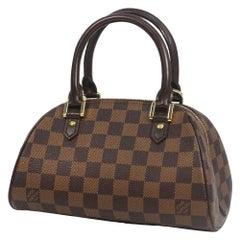 LOUIS VUITTON Rivera Mini Womens handbag N41436 Damier ebene