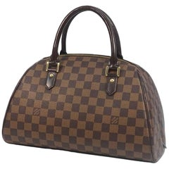 LOUIS VUITTON Rivera MM Womens handbag N41434 Damier ebene