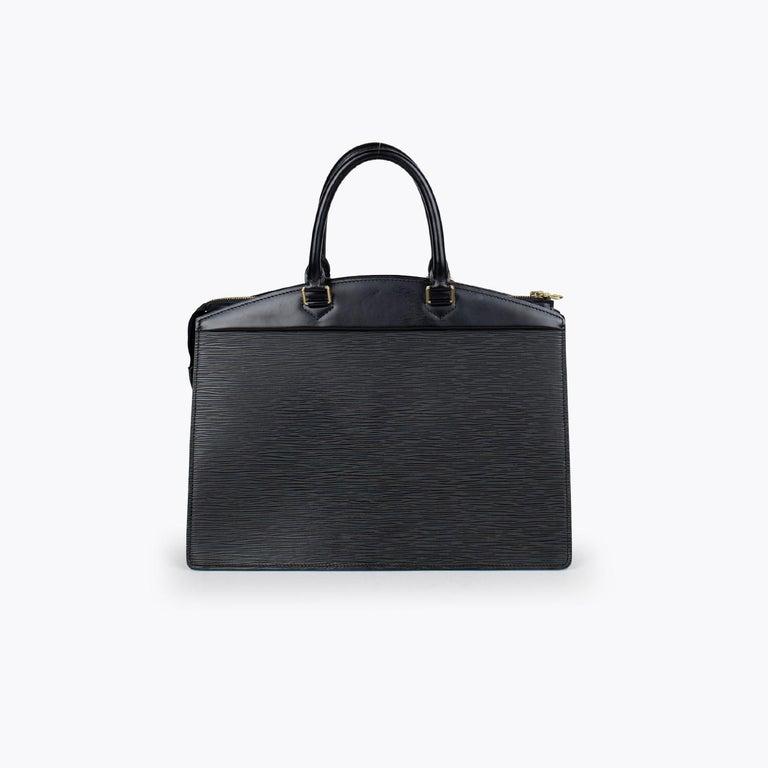 Black Louis Vuitton Riviera Epi Bag