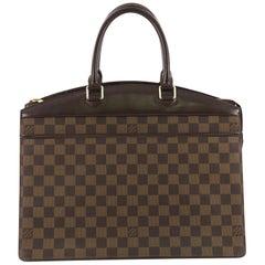 Louis Vuitton Riviera Handbag Damier